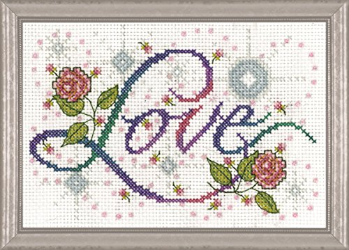 Love Cross Stitch (Tobin Love Cross Stitch Kit-5