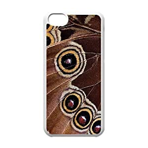 Custom Colorful Case for Iphone 5C, Butterfly Cover Case - HL-R667092