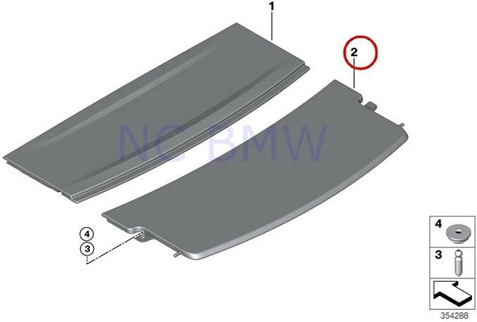 BMW Genuine Front Floor Parcel Storage Net 51477114523 51472263062