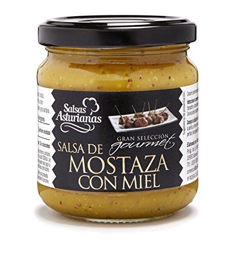 Salsas Asturianas, Salsa de Mostaza a la Miel, Mosterdsaus met honing, 210 g