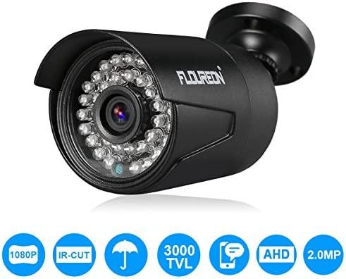 1080P HD AHD Camera CCTV Security System IR Cut Night Vision IP66 waterproof