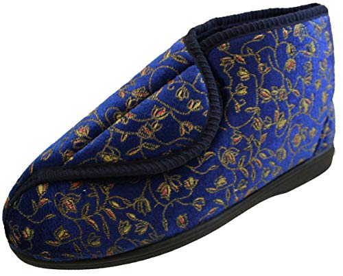 Bleu 41 Lloydspharmacy At 8 Uk Femme Chaussons 5 Betterlife Pour Pv17qwf