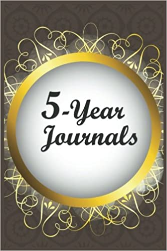 5-Year Journals: 5 Years Of Memories, Blank Date No Month, 6 x 9, 365 Lined Pages