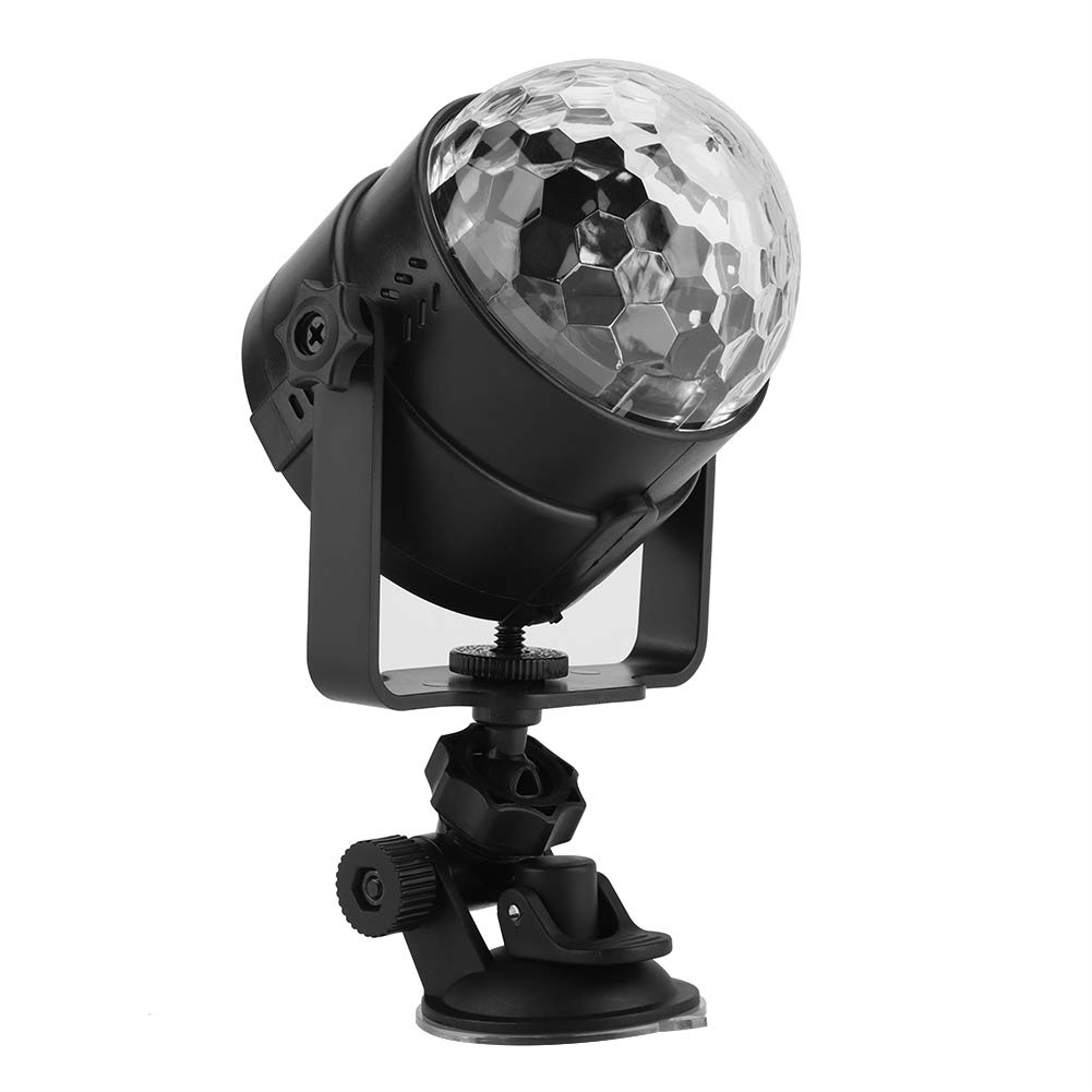 Party Lights Disco Ball, 7 Modes Sound Activated Stage Lights with Remote USB Rechargeable Magical LED Lamp for Home Room Dance Parties Birthday DJ Bar Karaoke Xmas Wedding Show Club Pub