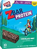 Clif Kid ZBAR - Protein Snack Bar - Chocolate Mint - (1.27 Ounce Gluten Free Bar, 10 Count)