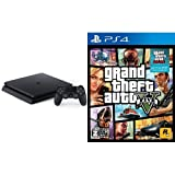 PlayStation 4 ジェット・ブラック 500GB(CUH-2000AB01) + グランド・セフト・オートV 【CEROレーティング「Z」】 (「特典」タイガーシャークマネーカード(「GTAオンライン」マネー$20万)DLCのプロダクトコード 同梱)