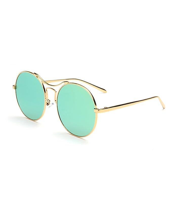 Ms. Occhiali da sole con gli occhiali da sole di marea Fronte rotondo Lady Yurt ( Colore : 1 ) fbup9E