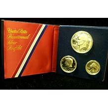 1776 1976 Bicentennial Silver Proof 3 pc Set Kennedy ++