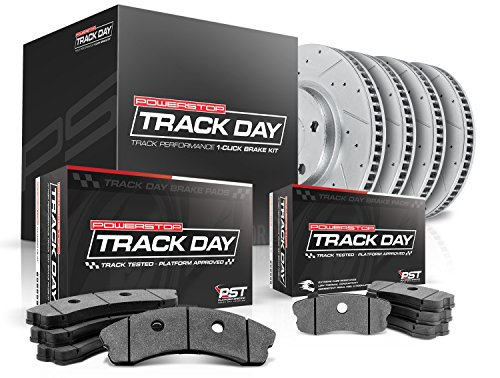 Power Stop TDK4488 Track Day Kit (05 Nissan 350z Track)