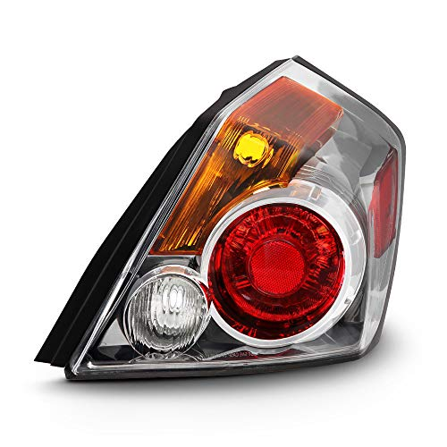 ACANII - For 2007-2012 Nissan Altima 4-Door Sedan Tail Light Rear Brake Lamp Assembly Replacement Right Passenger Side ()