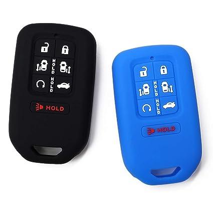 Amazon.com: Juego de 2 carcasas para llave de 7 botones para ...