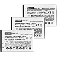 LG BL-46CN Cell Phone Battery Combo-Pack includes: 3 x SDMP-L614 Batteries