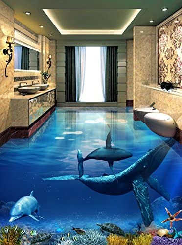 3D water fish floor 59 Floor WallPaper Murals Wall Print Decal 5D AJ WALLPAPER