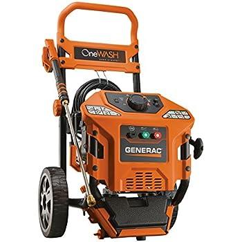 Generac 6602 OneWash 3,100 PSI, 2.8 GPM, 4-in-1 PowerDial, Gas Powered Pressure Washer (Discontinued by Manufacturer)
