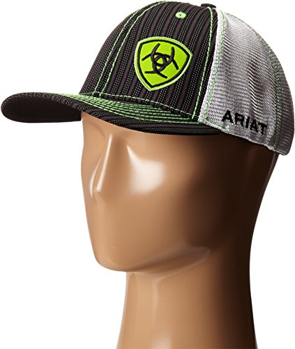 Ariat Men's Pin Heavy Offset Logo, Lime Green, One Size