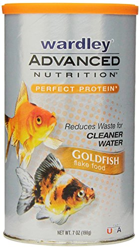 Goldfish Flake Food (Wardley Total Goldfish Flake Food, 7.0 oz.)