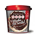 Pascha Make Me Smile Chocolate & Fruit Spread, Unsweetened, 9.7 Ounce (Pack of 6)