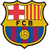 "Barcelona FC Spain Soccer Football Car Bumper Sticker Decal 5"" x 5"""