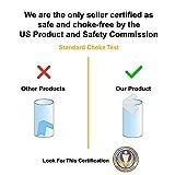 Skyla Homes - Clear Corner Protectors | High Resistant Adhesive Gel | Best Baby Proof Corner Guards | Stop Child Head Injuries | Tables, Furniture & Sharp Corners Baby Proofing (20-Pack)