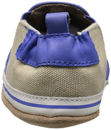 Robeez Liam Soft Sole Crib Shoe (Infant), Taupe, 6-12 Months M US by Robeez (Image #2)
