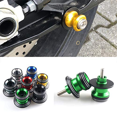Honda Cbr929rr Swing Arm - 8mm Sliders Spools SwingArm Swing Arm Paddocks Stand Bobbins For Honda CBR900RR / CBR929RR / RC51 SP1 / RC51 SP2