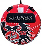 O'Brien Solo Screamer Inflatable Towable Tube, Red/Black, 56-Inch