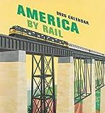 America by Rail 2020 Wall Calendar