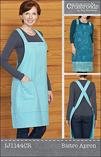 Indygo Junction Bistro Apron Sewing Pattern (Apron Patterns For Sewing Easy)