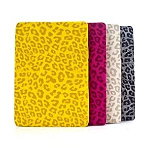 NEW Leopard Print Design Folding PU Leather Case with Stand for iPad Air iPad 5 (Assorted Color) , White