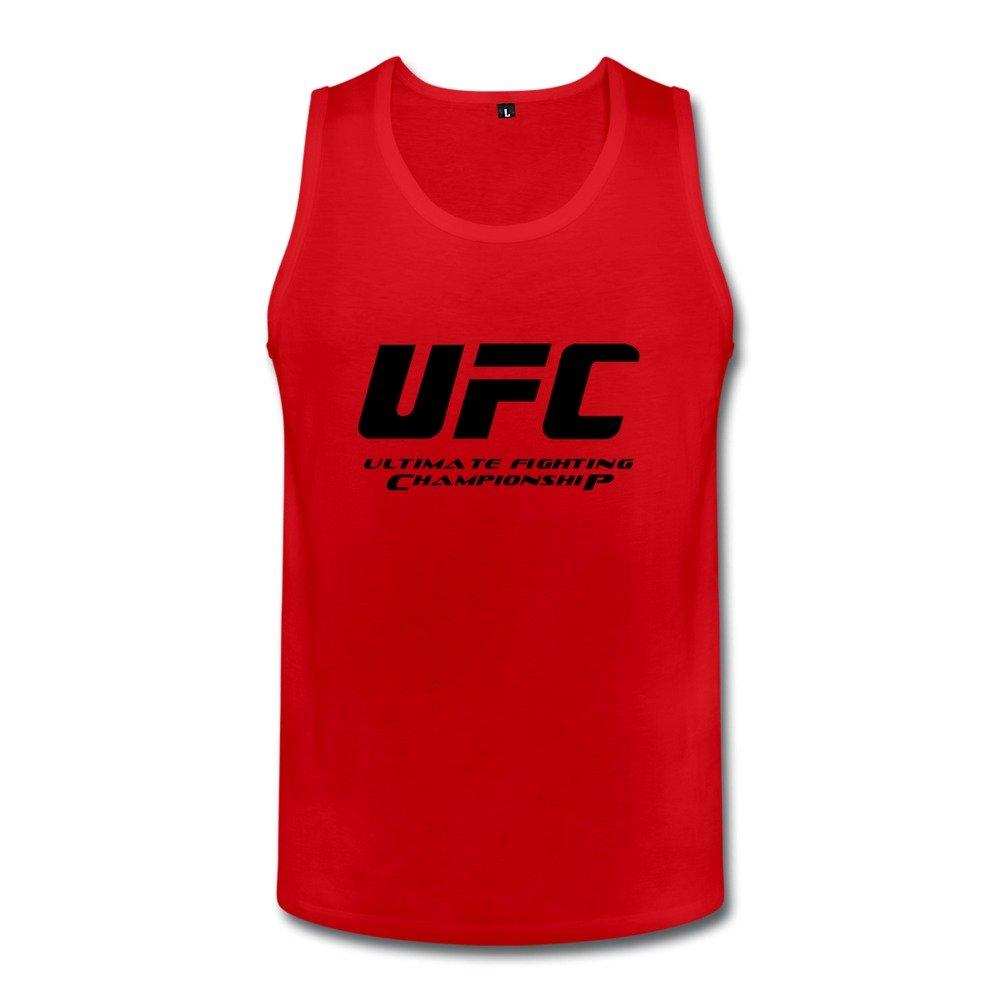 Amazon fc ufc logo tank top for men heathergray clothing buycottarizona Gallery