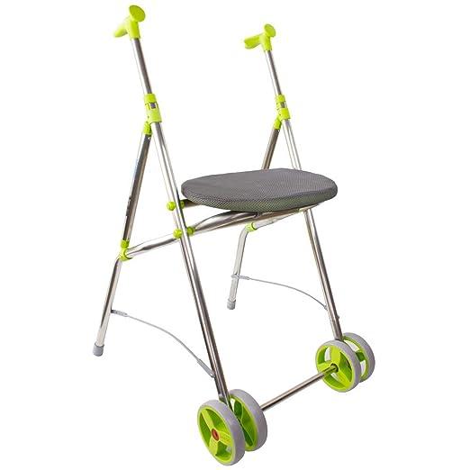 Forta qa-00151/03 - andador plegable ara c con ruedas y asiento ...