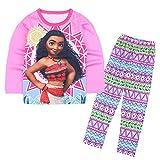 Lovelygift Moana Pajamas Set Girl 2-Piece Children's Pajamas Set