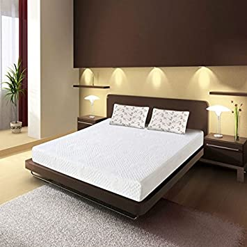 7 Inch Memory Foam Mattress Size Short Queen