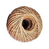 AAYU Natural Jute Twine 400 Feet 3Ply Jute Rope ball for Arts and Crafts DIY Packaging Gift Wrap Decorations Gardening