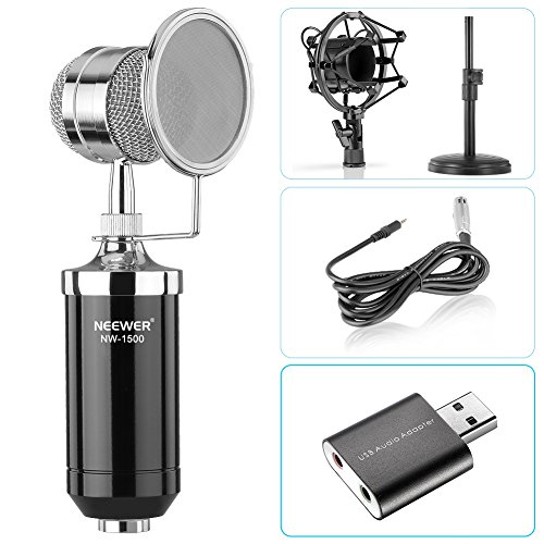 Neewer Condenser Microphone Broadcast Recording