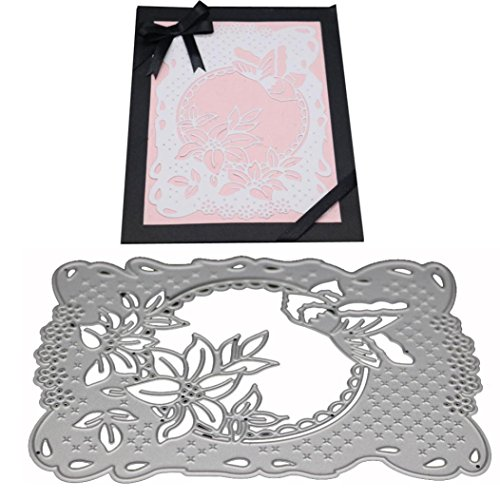 Flower Die Cut,iHPH7 Hearts Metal Cutting Dies Stencils DIY Scrapbooking Album Paper Card Making -