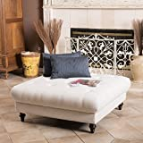 Fabric Ottoman Coffee Table Great Deal Furniture Parisian Fabric Ottoman Footstool Coffee Table