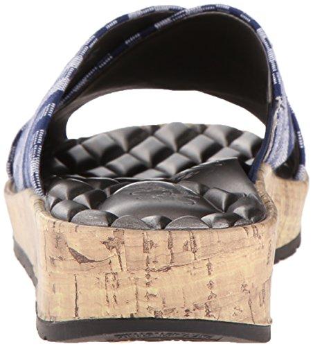LifeStride Women's Positive Slide Sandal Navy IUR6k