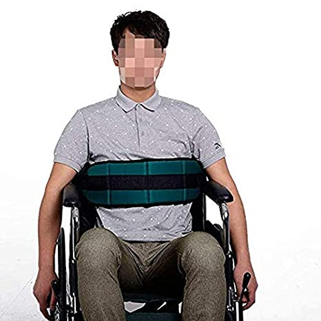 Cinturón de seguridad fijo para silla de ruedas, cinturón de seguridad para ancianos, con