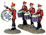 Lemax 32101 Drum Corpse Spooky Town Figure Set of 2 Halloween Decor Figurine
