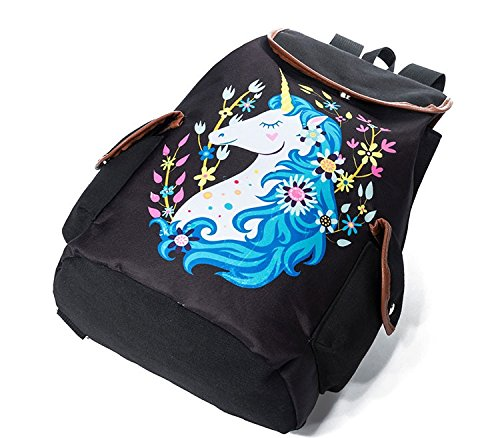 Amazon.com: Winerbag Trendy Women Drawstring Backpacks Cute Unicorn Print School Bags For Girls Preppy Style Female Floral Travel Rucksack 1175b: Sports & ...