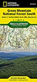 Green Mountain National Forest South [Robert T. Stafford White Rocks National Recreation Area, Manchester] (National Geographic Trails Illustrated Map)