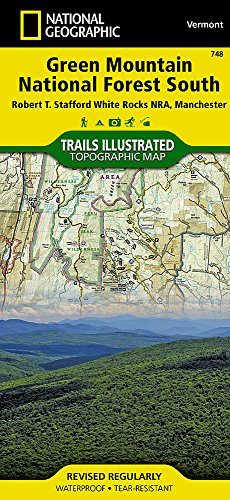 (Green Mountain National Forest South [Robert T. Stafford White Rocks National Recreation Area, Manchester] (National Geographic Trails Illustrated Map))