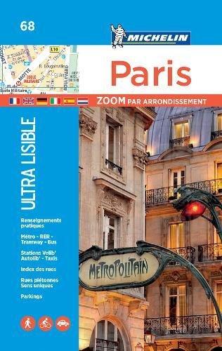 Paris par arrondissement - Michelin City Plan 68: City Plans (Michelin City Plans)