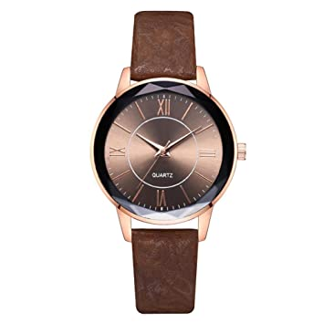 Funihut Reloj Mujer Cuarzo - Reloj De Pulsera para Mujer Analógico Moda Diseño Exclusivo Reloj Impermeable