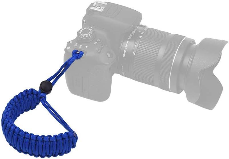 Docooler Adjustable Braided Paracord Camera Wrist Strap Lanyard for Canon Nikon Sony DSLR ILDC Cameras Binoculars