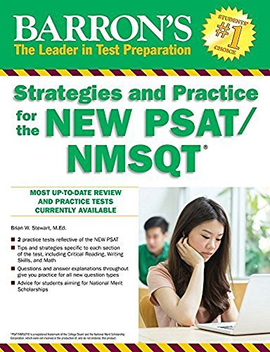 Barron's Strategies and Practice for the NEW PSAT/NMSQT (Barron's Strategies and Practice for the Psat/Nmsqt) cover