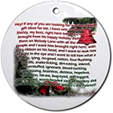 Clark Griswold rants, Christmas Vacation Ornament Round Ornament by CafePress