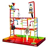 ACRYLIC PLAY STAND pen gym parrot bird cages toy toys Cockatiels Parakeet review