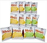 Whisps Cheese Crisps 12 pack assortment (0.63oz) Cheddar & Parmesan